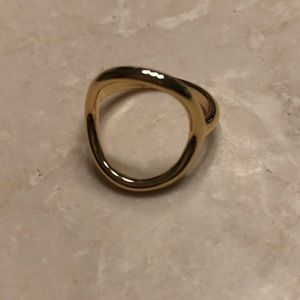 Madewell Gold ring